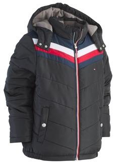 Tommy Hilfiger Little Boys David Hooded Puffer Jacket