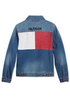 Tommy Hilfiger Little Boys Dean Knit Denim Jacket