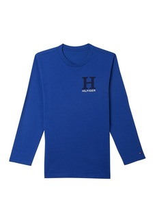 Tommy Hilfiger Little Boys' Dustin-Bex Jersey Long Sleeve Tee