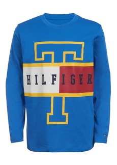 Tommy Hilfiger Little Boys Frank Colorblocked Logo T-Shirt