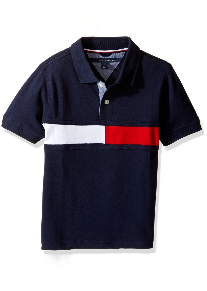 in stock classic style best quality Tommy Hilfiger Tommy Hilfiger Little Boys' Gary Stretch Polo | Shirts
