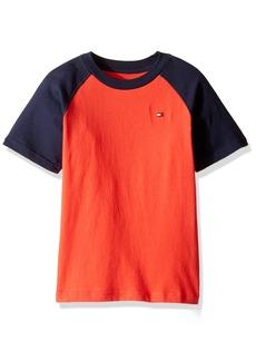 Tommy Hilfiger Little Boys' Short Sleeve Raglan T-Shirt