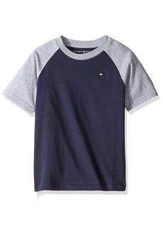 Tommy Hilfiger Boys' Little Short Sleeve Raglan T-Shirt  /5