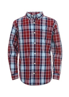Tommy Hilfiger Little Boys Gregor Plaid Shirt