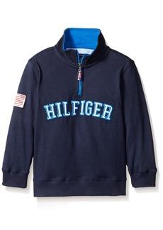 Tommy Hilfiger Little Boys' Half Zip Pullover Sweater