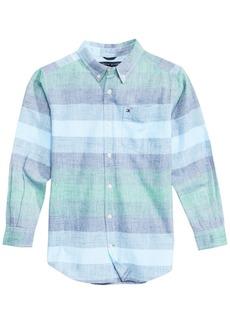 Tommy Hilfiger Little Boys Jason Striped Cotton Shirt