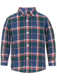 Tommy Hilfiger Little Boys John Plaid Shirt