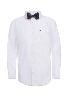 Tommy Hilfiger Little Boys Kramer Bowtie Shirt