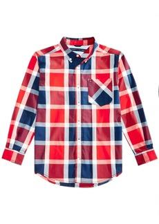Tommy Hilfiger Little Boys Lamar Plaid Shirt