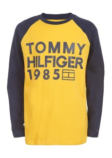 Tommy Hilfiger Little Boys Leo Colorblocked Logo T-Shirt