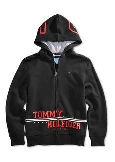 Tommy Hilfiger Little Boys Logo-Print Hoodie