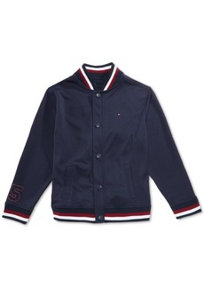 Tommy Hilfiger Little Boys Mesh Baseball Jacket