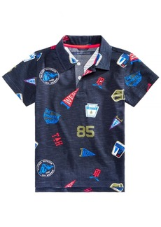 Tommy Hilfiger Little Boys Printed Cotton Polo