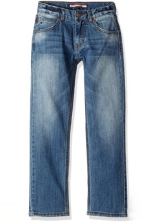 Tommy Hilfiger Little Boys' Denim Jeans With Stretch