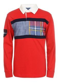 Tommy Hilfiger Little Boys Rugby Chest Flag Sweater