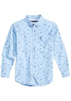Tommy Hilfiger Little Boys Sawyer Printed Cotton Shirt