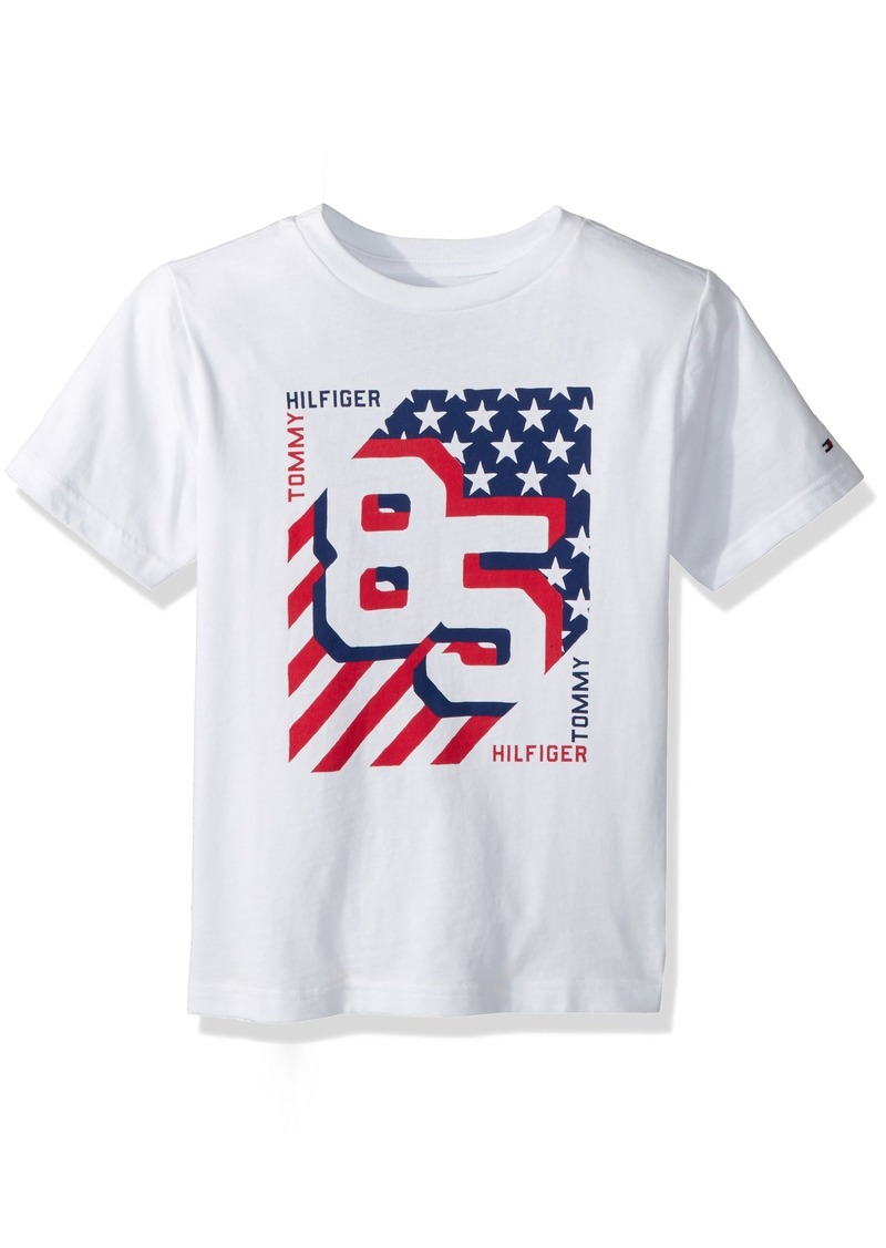 dace963a8 Tommy Hilfiger Tommy Hilfiger Little Boys' Short Sleeve Graphic T ...