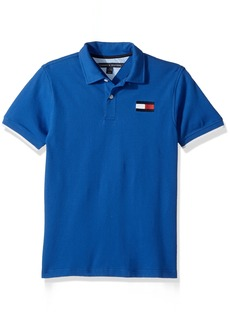 Tommy Hilfiger Little Boys' Short Sleeve Logo Polo Shirt