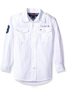 Tommy Hilfiger Boys' Little Signature Convertible Shirt