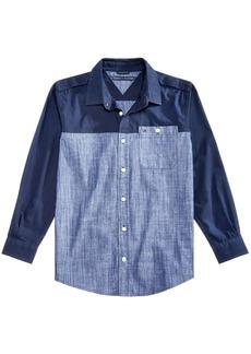Tommy Hilfiger Little Boys Toby Cotton Poplin & Chambray Shirt
