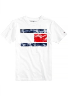 Tommy Hilfiger Little Boys Tommy Flag Graphic-Print T-Shirt
