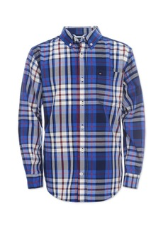 Tommy Hilfiger Toddler Boys Travis Plaid Shirt