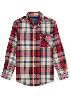 Tommy Hilfiger Toddler Boys Tristan Plaid Cotton Shirt