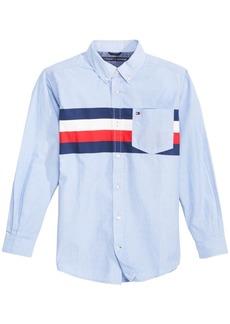 Tommy Hilfiger Little Boys William Striped Cotton Shirt