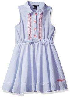 Tommy Hilfiger Little Girls' Chambray Dress