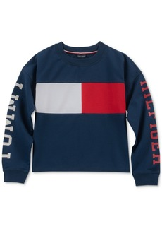 Tommy Hilfiger Little Girls Colorblocked Sweatshirt