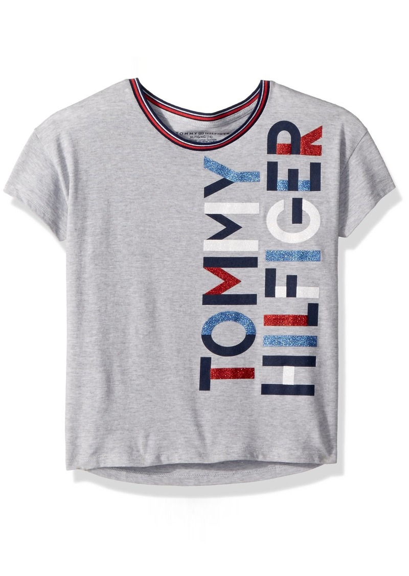 1d7473d0 Tommy Hilfiger Tommy Hilfiger Little Girls' Graphic Tee | Tshirts