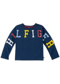 Tommy Hilfiger Little Girls Logo Sweatshirt