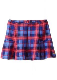 Tommy Hilfiger Little Girls' Plaid Printed Neoprene Skirt