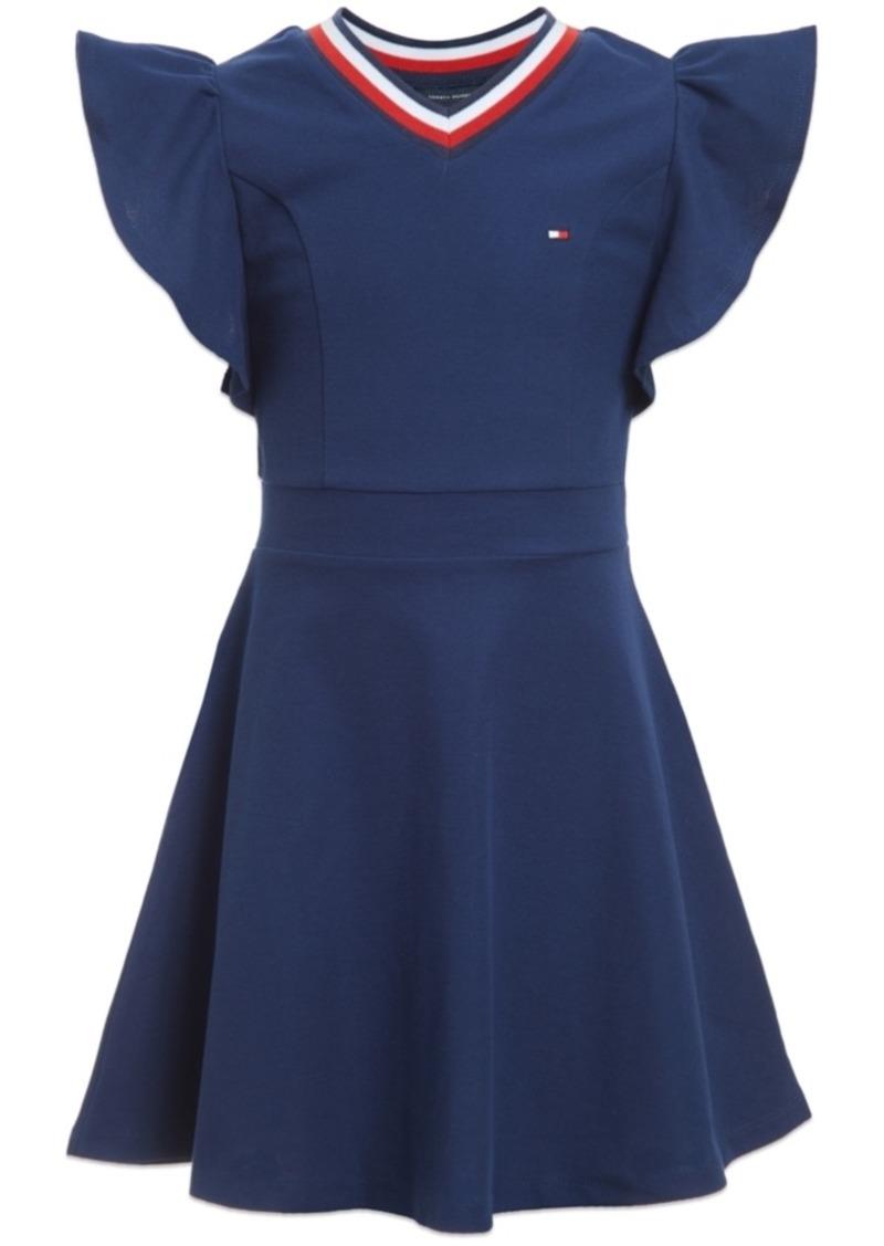 Tommy Hilfiger Toddler Girls Ruffle-Sleeve Dress