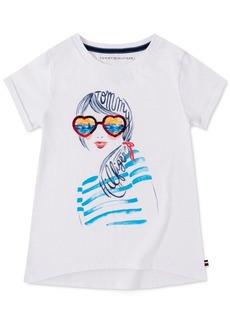 Tommy Hilfiger Little Girls Sunset Dream Cotton T-Shirt