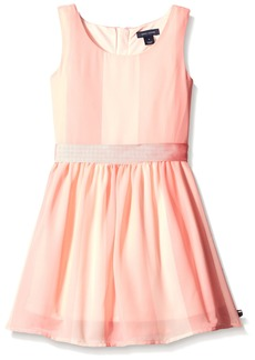 Tommy Hilfiger Little Girls' Vertical Stripe Dress