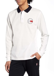 Tommy Hilfiger Logo Badge Long Sleeve Polo