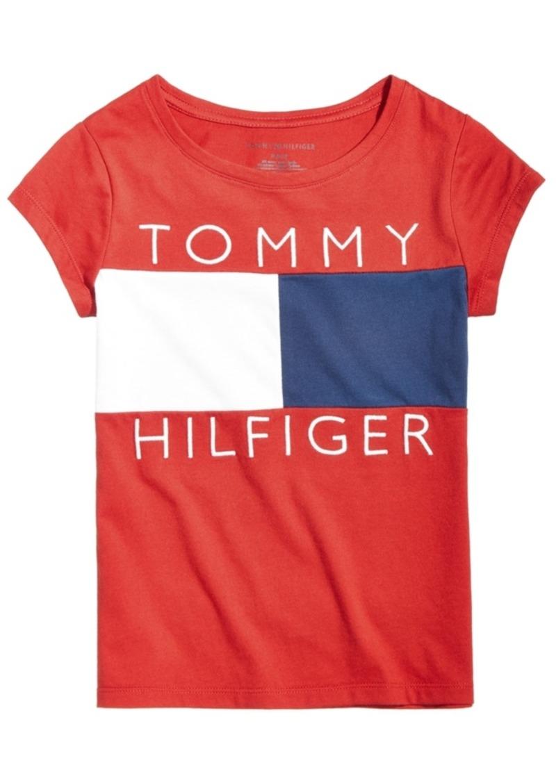 442910fb4 On Sale today! Tommy Hilfiger Tommy Hilfiger Logo Flag T-Shirt, Big ...