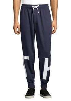 Tommy Hilfiger Logo Fleece Drawstring Joggers