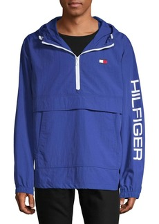 Tommy Hilfiger Logo Graphic Popover Jacket