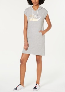 Tommy Hilfiger Logo Hoodie Dress, Created for Macy's
