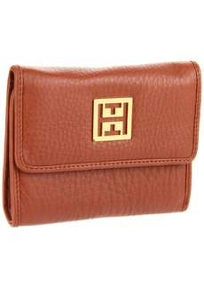 Tommy Hilfiger Logo Plaque French Wallet