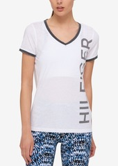 Tommy Hilfiger Logo Ringer T-Shirt, Created for Macy's
