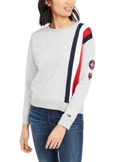 Tommy Hilfiger Logo-Stripe Sweatshirt