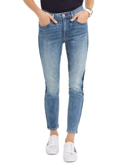 Tommy Hilfiger Logo-Striped Skinny Jeans, Created For Macy's