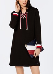 Long Sleeve Lace Up Dress Created For Macys