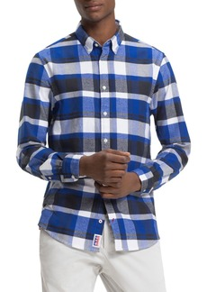 Tommy Hilfiger Lumber Jack Check-Print Regular Fit Button-Down Shirt