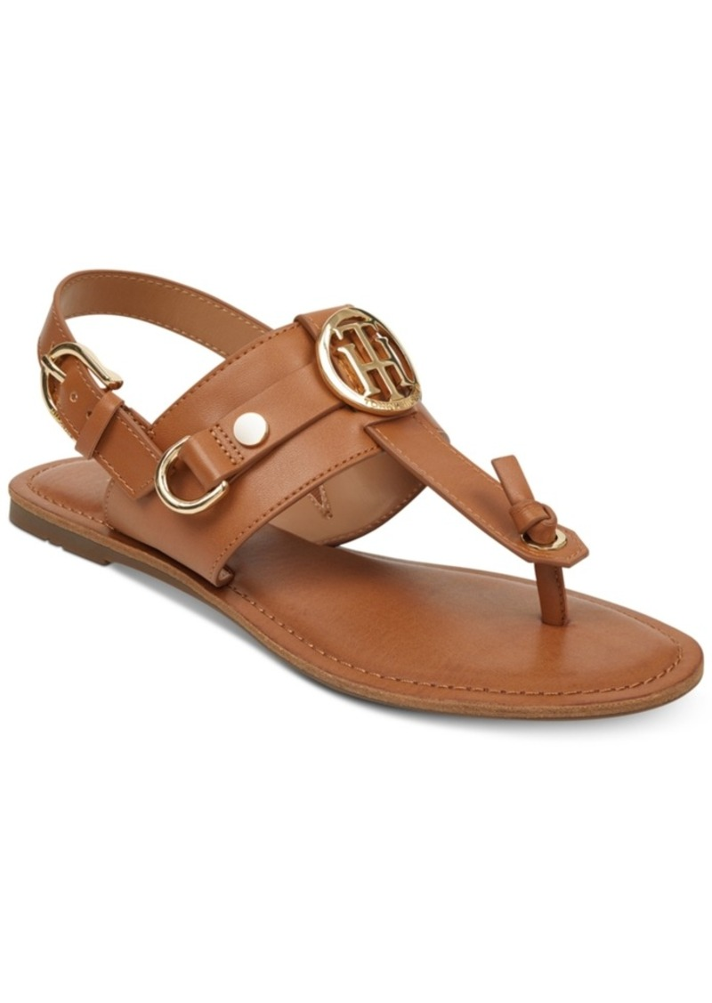 28cd3c69d On Sale today! Tommy Hilfiger Tommy Hilfiger Luvee Flat Sandals ...
