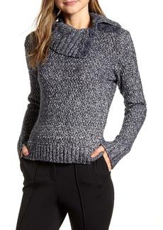 Tommy Hilfiger Marl Button Detail Sweater