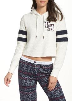 Tommy Hilfiger Marshmallow Varsity Hoodie Sweatshirt